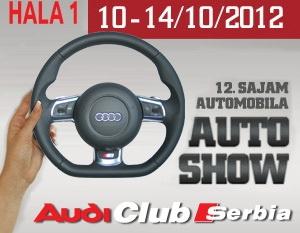 Sajam automobila – Audi club Serbia u Hali 1