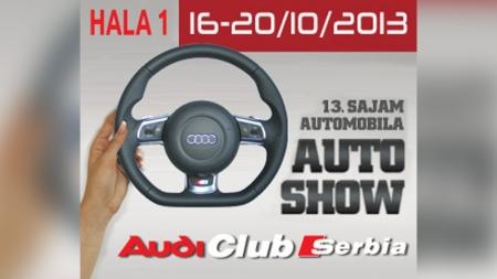 SAJAM AUTOMOBILA Novi Sad 16-20.Oktobar 2013.