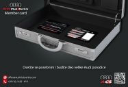 Audi klub Srbija clanska karta - izgled