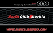 Audi clanska karta - zadnja strana