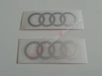 Audi chrome nalepnice