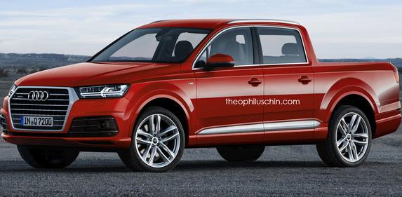 Ovako bi mogao da izgleda Audi Q7 pick-up