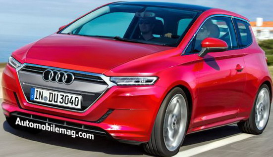 Audi pripema novi gradski model