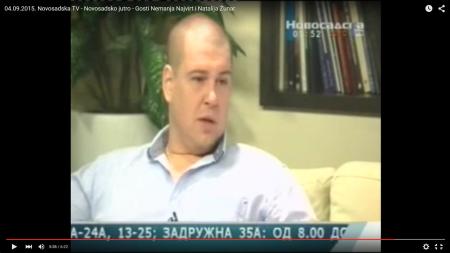 Novosadska TV – Novosadsko jutro – 04.09.2015.