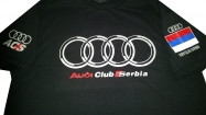 Audi muska majica crna