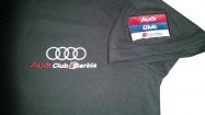 Audi majica sa kragnom vez