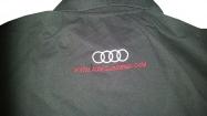 Audi majica sa kragnom crna