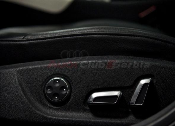 Hrom dekorativni prekidaci Audi sedista