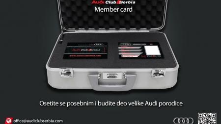 Audi Srbija članska karta