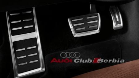 Audi Alu pedale