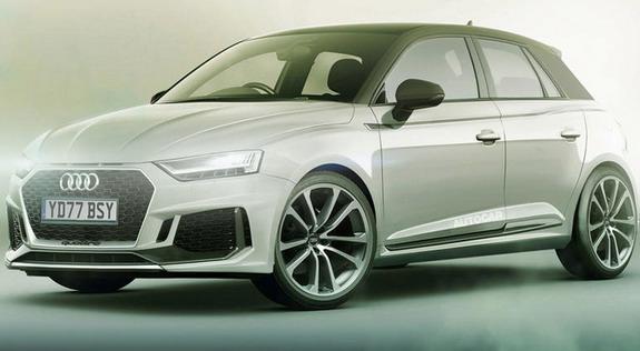 Novi Audi A1: novi render