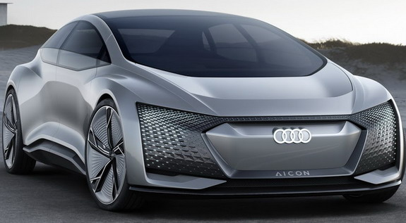 Audi Aicon concept i Audi Elaine concept