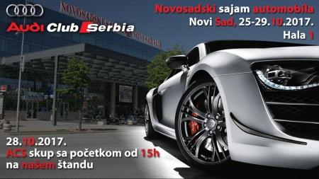 ACS na sajmu automobila Novi Sad 2017.