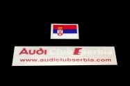 Audi klub Srbija i zastava Srbije