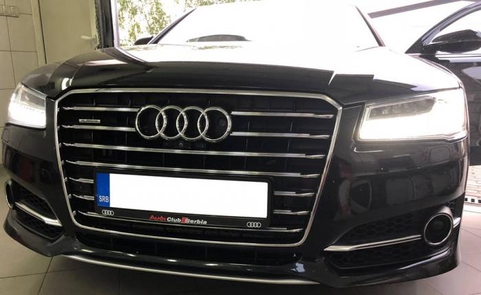 Ugradnja antiradara na Audi A8