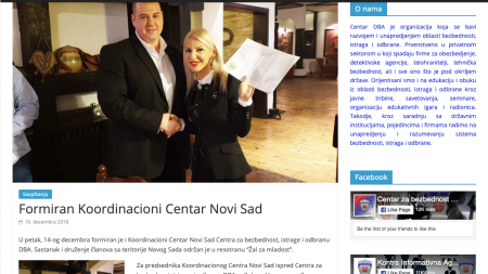 Predsednik i vlasnik ACS Nemanja Najvirt je postao i prvi čovek DBA za Vojvodinu